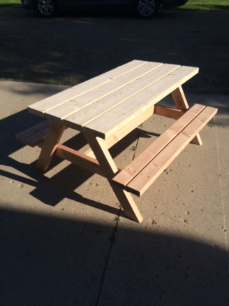 Kids size table